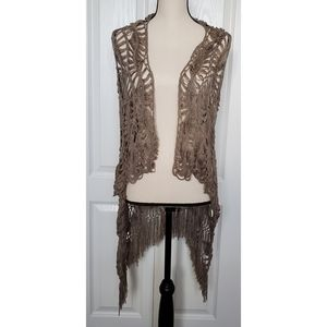 Daytrip Crochet Vest Size Small
